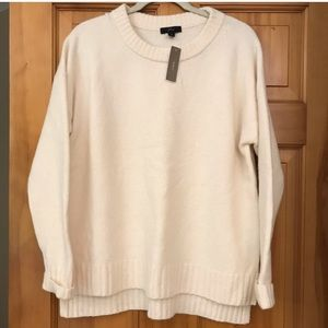 Reposh J. Crew oversized sweater